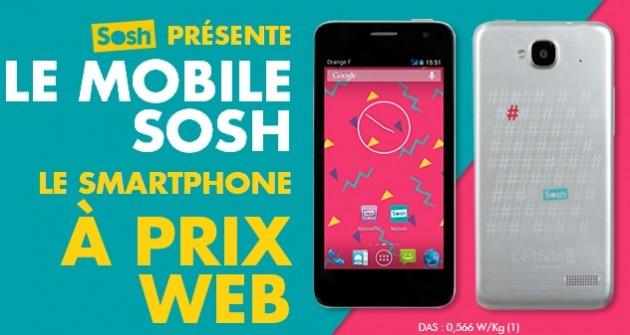 mobile Sosh dispo dès le 17 octobre