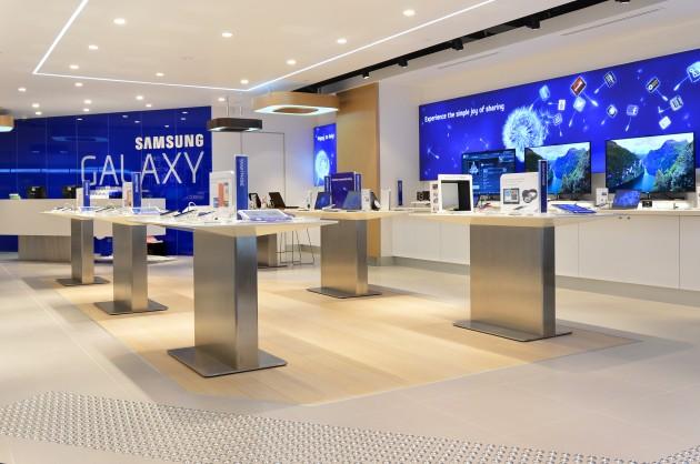 Samsung Geroge St Sydney Opening