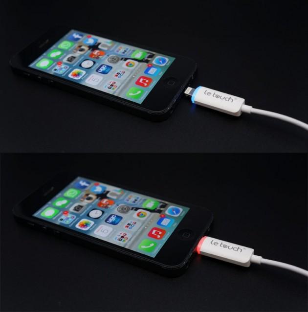 cable Lightning Letouch d'origine Coréenne