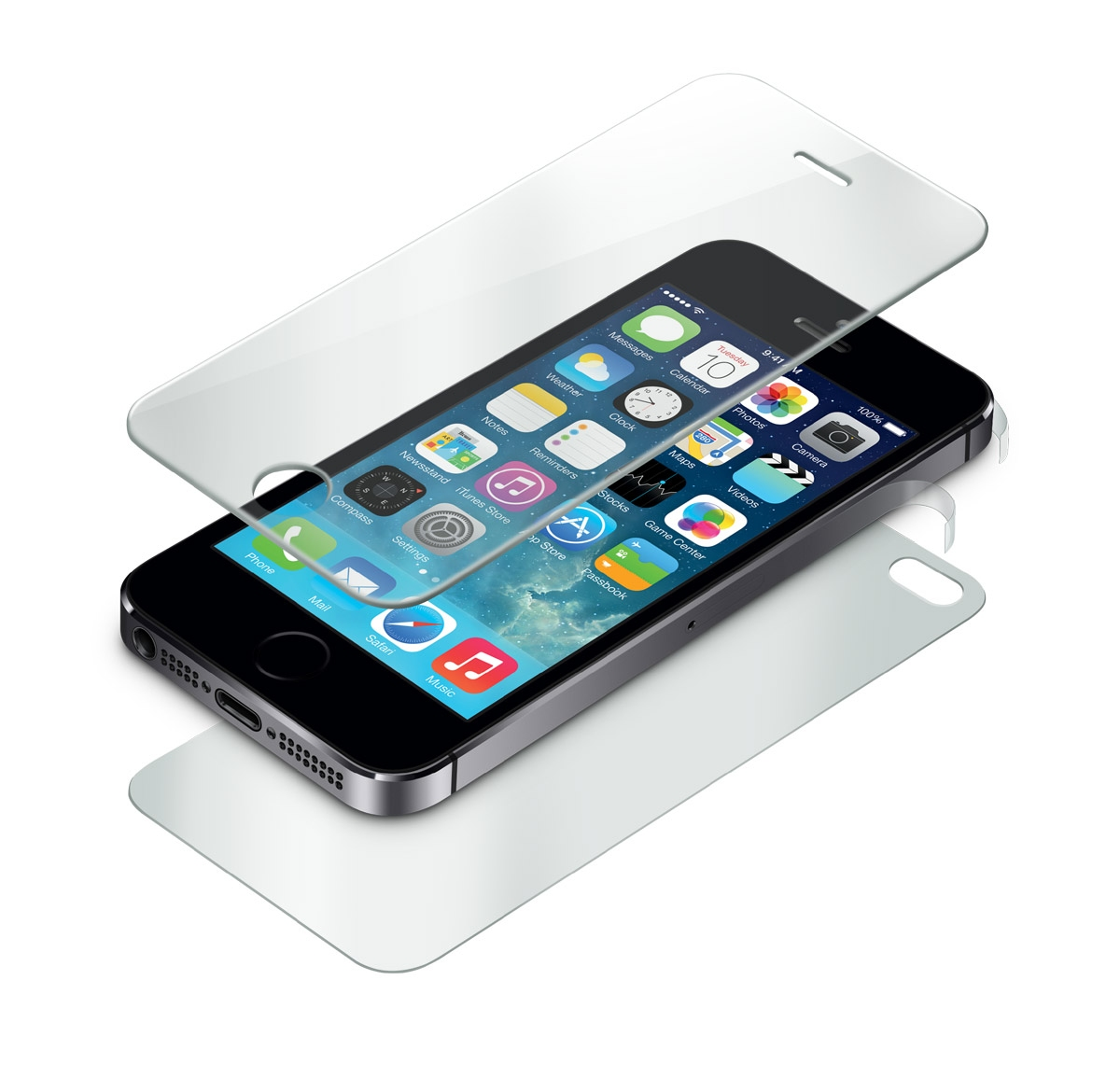 pack protection verre tremp pour iphone 5 5s prix promo moins 15 euros wearemobians. Black Bedroom Furniture Sets. Home Design Ideas