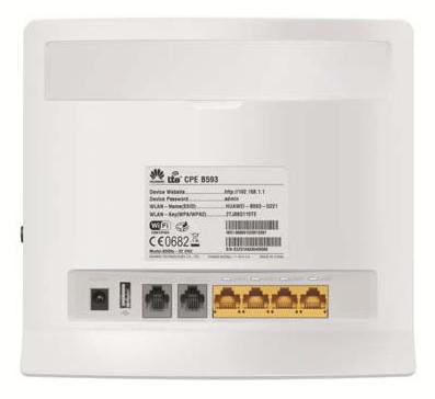 routeur 4G dos