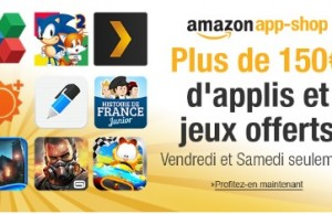 Applications Android gratuites depuis App Shop Amazon