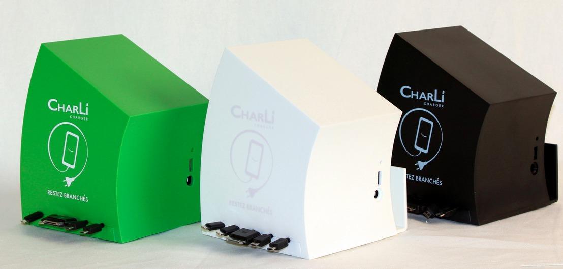 charli charger la petite borne pour recharger votre mobile wearemobians wearemobians. Black Bedroom Furniture Sets. Home Design Ideas