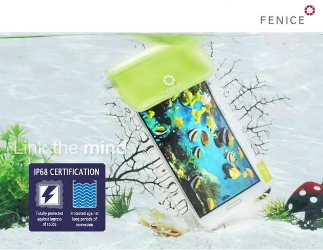 Protégez votre smartphone avec l'étui waterproof Fenice en promo