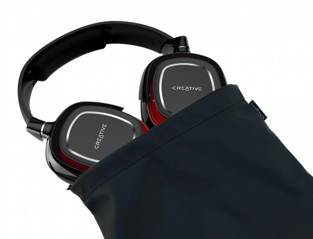 Product_Draco2 HS880_Headset in the pouch