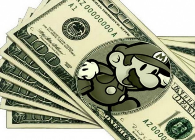 dollars mario