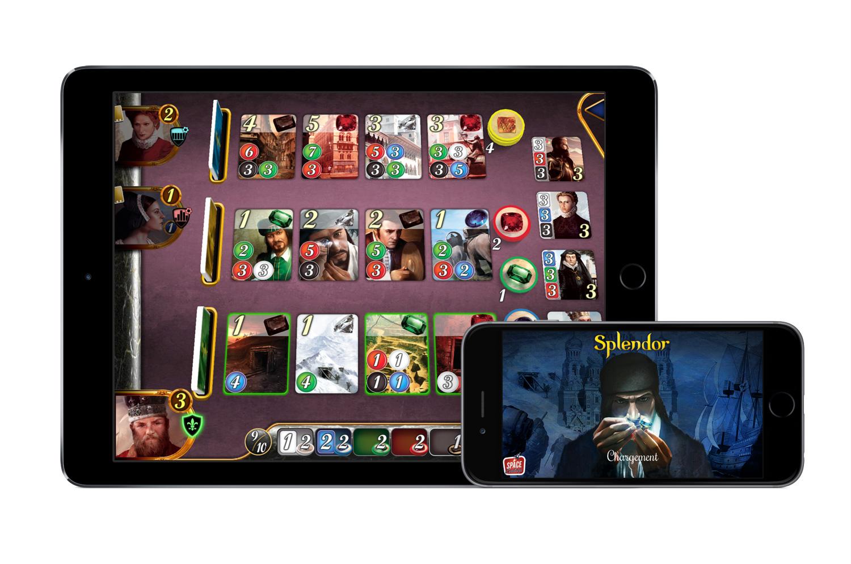 Test splendor un jeu de cartes en or ios android - Jeu de cuisine android ...