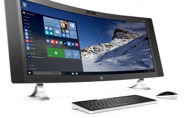 HP ENVY Curved All-in-One_right facing