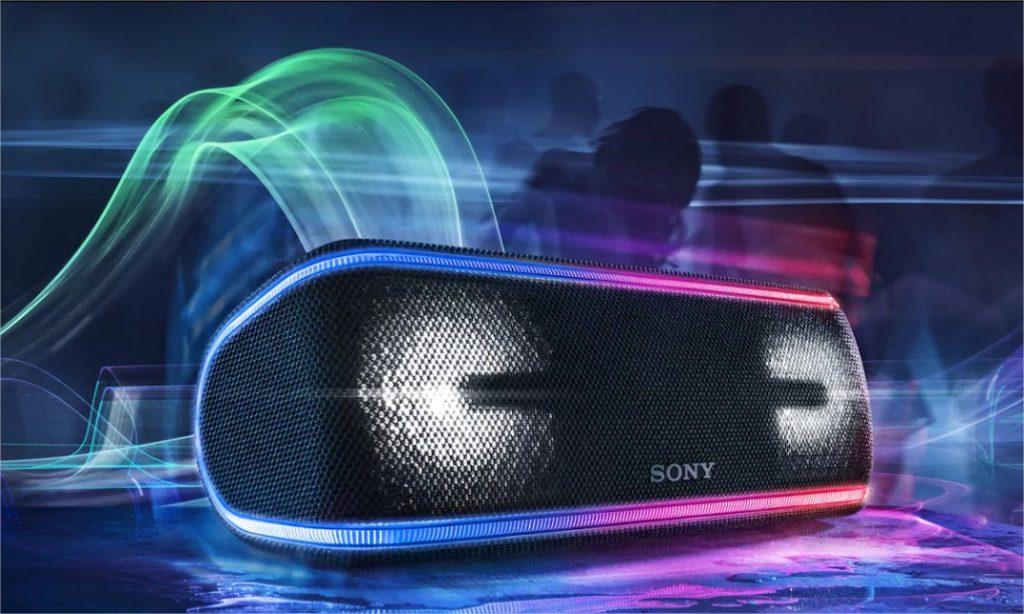 Enceinte de fête portable étanche avec lumières SRS-XB41 Sony FR – Google Chrome