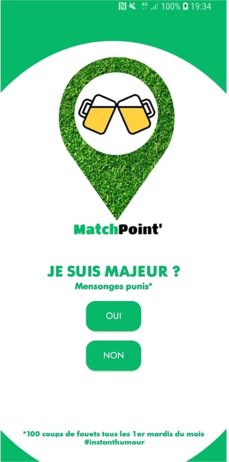 MatchPoint' – Applications sur GooglePlay – Google Chrome