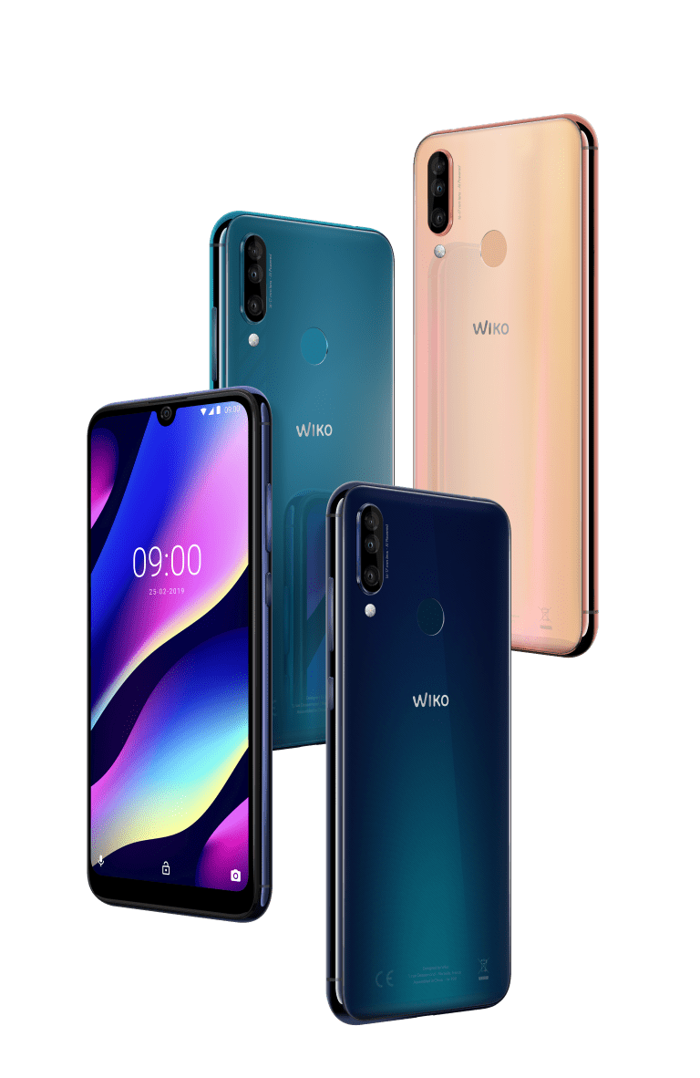 Wiko_MWC2019_View-3_All-Colors-02_HDV2