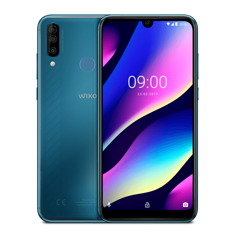 Wiko_MWC2019_View-3_Electro-Bleen_Compo_HD